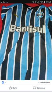 Camisa Grêmio Futebol - Usada - Puma