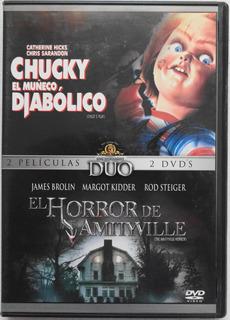 Chucky El Muñeco Diabólico / El Horror De Amityville Dvd