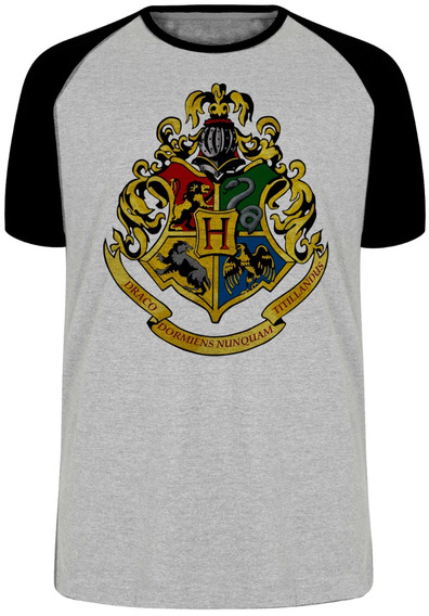Camiseta Hogwarts Harry Potter Kit 3 Peças Escolha Cliente
