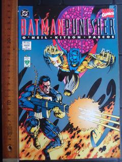 Batman Punisher Lago De Fuego 3 Comic En Español