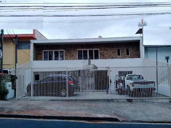 Casa Comercial Para Locação, Jardim Chapadão, Campinas. - Ca12405