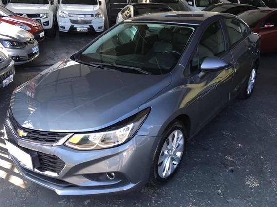 Chevrolet Cruze Lt 1.4 Turbo 2017 Cinza Na Garantia
