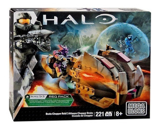 Mega Bloks Halo Attaque Chopper Brute 100% Nuevo