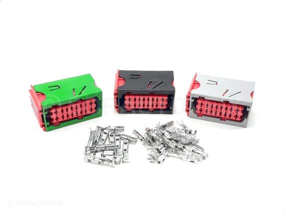 Plug Conector Para Módulo Central Bsi Citroen C4 9665547480
