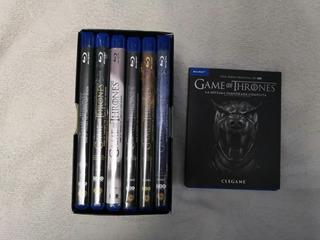 Game Of Throne Juego De Tronos 7 Temporadas Blu Ray Original