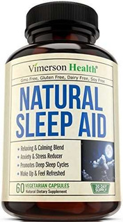 Natural Sleep Aid Pills - Con Valeriana, Melatonina Y