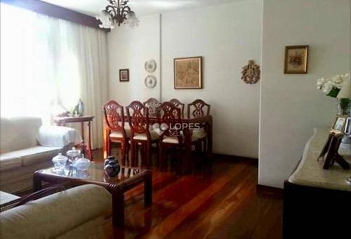 Apartamento Com 3 Dormitórios À Venda, 98 M² Por R$ 600.000,00 - Icaraí - Niterói/rj - Ap35871