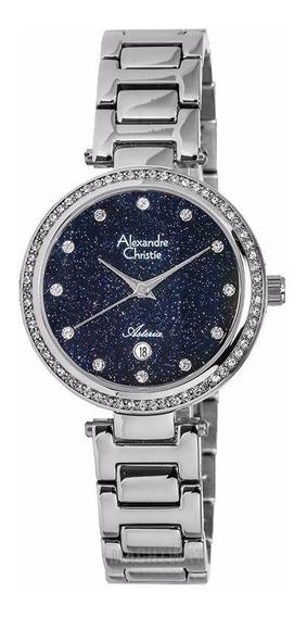 Reloj Alexandre Christie Asteria Acero 2630ldbssbu Original