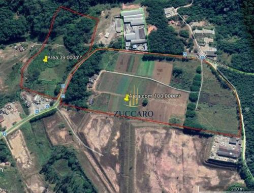 Área À Venda, 139000 M² Por R$ 30.000.000,00 - Taboão - Mogi Das Cruzes/sp - Ar0187