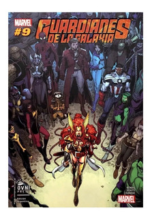 Guardianes De La Galaxia #9 - Ed. Ovni Press - Bendis