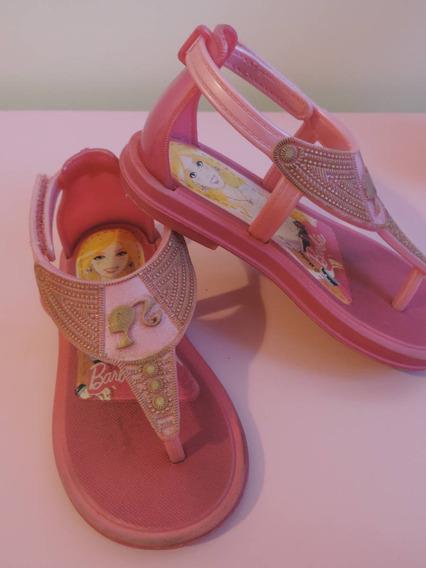 Sandália Barbie Rosa B17716224