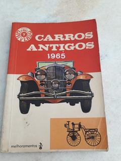 Mini Revista Universo Carros Antigos Década De 60 Conservado