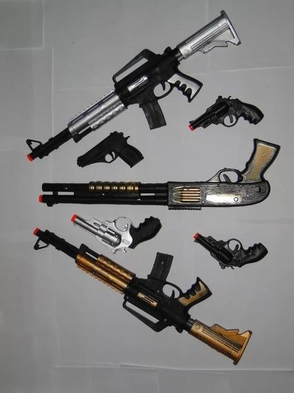 Guerra Rambo Vietnan Kit Arma Brinquedo Fuzil Ak 47