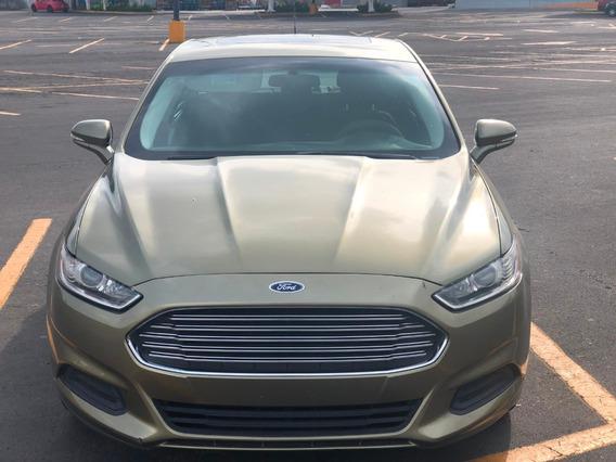 Ford Fusion 2013 En Venta Unico Dueño