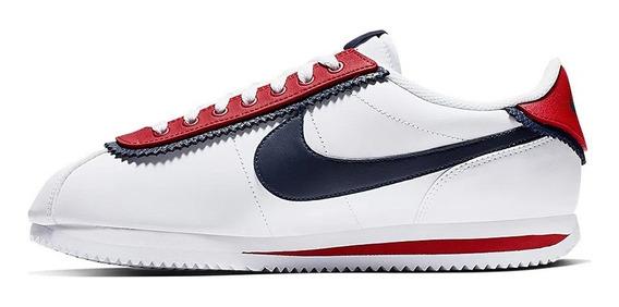 Tênis Nike Cortez Basic Se Double Layered Red Limited Edtion