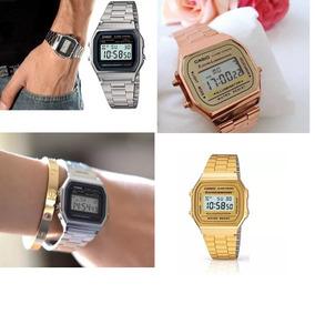 Relógio Vintage Pulso Retro Barato Dourado Prata Rose Preto