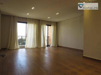 Apartamento Locação 106 M²- Ed. Ana Paula - Centro De Apoio 2- Santana De Parnaíba - Alphaville - Ap1334