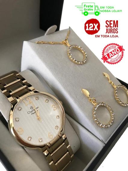 Relógio Feminino Original Com Kit