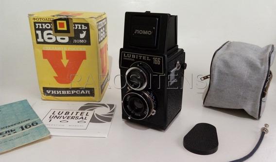 Câmera Fotográfica Lubitel 166 Universal 1993 Filme 120 Nova