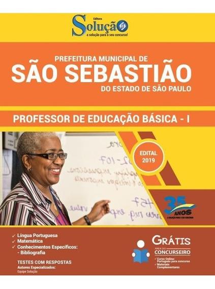 Apostila São Sebastião Sp 2019 Professor Educação Básica I