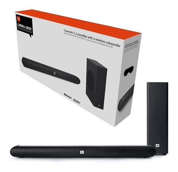 Sound Bar Jbl Sb150 2.1 Bluetooth 120 Watts Rms Nota Fiscal