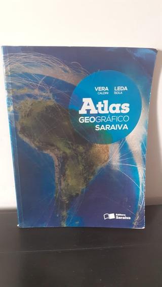 Atlas De Geografia Saraiva - Vera Caldini E Leda Isola