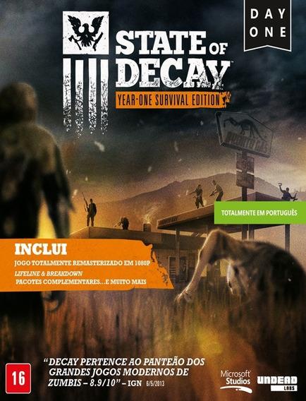 State Of Decay Day One Português Pc - Steam Key (envio Já)