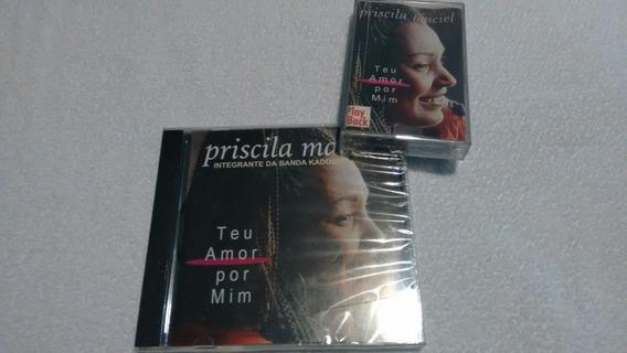 Priscila Marciel-teu Amor Por Mim Cd & Playback K7 Original