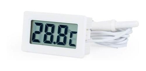 Imagen 1 de 5 de Termometro Digital Temperatura Con Sonda -50º A 80ºc Indoor