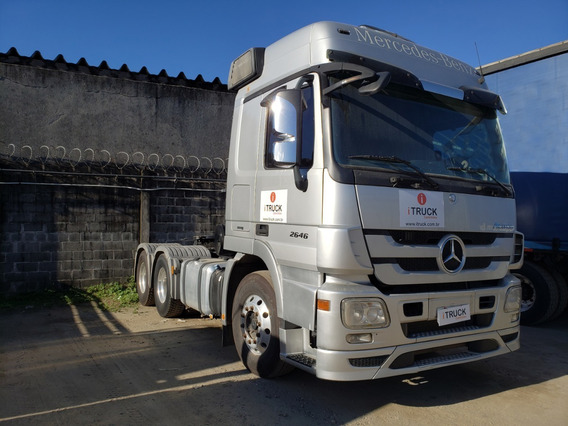 Mb 2646 6x4 Ano 2015 = Scania Volvo 440 460 2644 2651