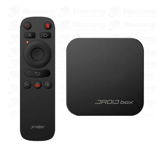 Droid Box Plus Xview Tv Smart 4k Hdmi Teclado Netflix Youtub