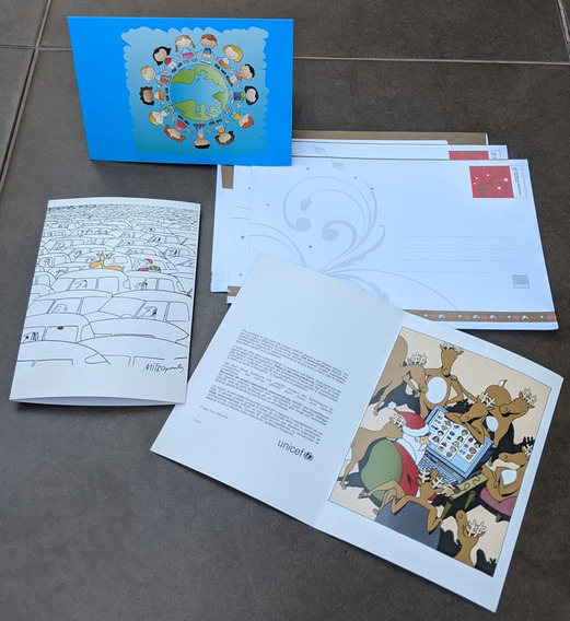 Tarjetas Mensajes Felices Fiestas Pack X3 Regalo