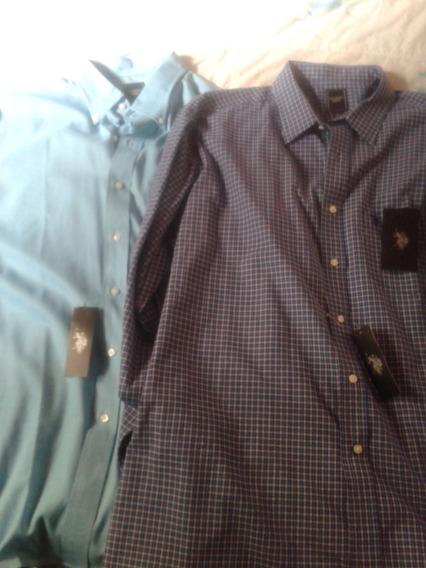 Camisas Caballero Originales U.s Polo Assn Talla Xl.