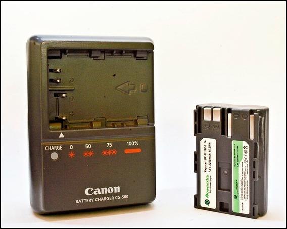 Cargador Y Batería Original Canon Eos 5d Y Otros Modelos