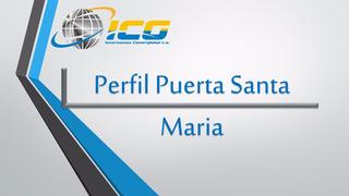 Perfil Puerta Santa Maria Galvanizada Esp. 0.70