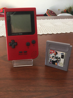 Consola Gameboy Pocket Color Roja + 1 Juego A Eleccion Ntdf