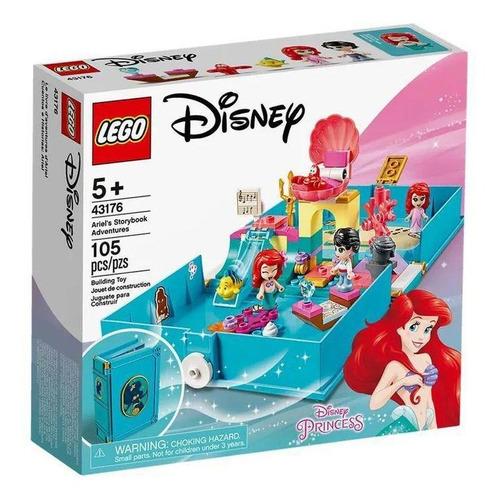 Imagem 1 de 4 de Lego Disney Aventuras Do Livro De Contos Da Ariel - 43176