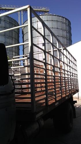 Carroceria De Ferro Pra Caminhao Toco  6  Mts