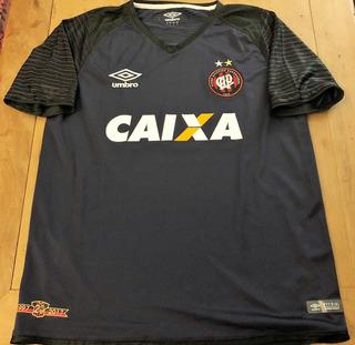 Camisa Do Atlético Pr L. Macanhan #94 Brasileiro 2018 Jogo