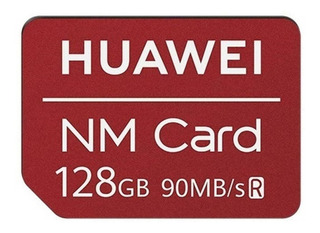 Tarjeta Nm Huawei 128gb Original Compatibles Huawei Mate 20 / 20 Pro / 20 X / P30 / P30 Pro / P30 Lite 90mb/s
