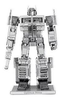 Rompecabezas Metalico Optimus Prime 3d