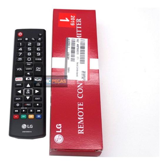 Controle Remoto Smart Lg Com Tecla Netflix Amazon Tv 2017