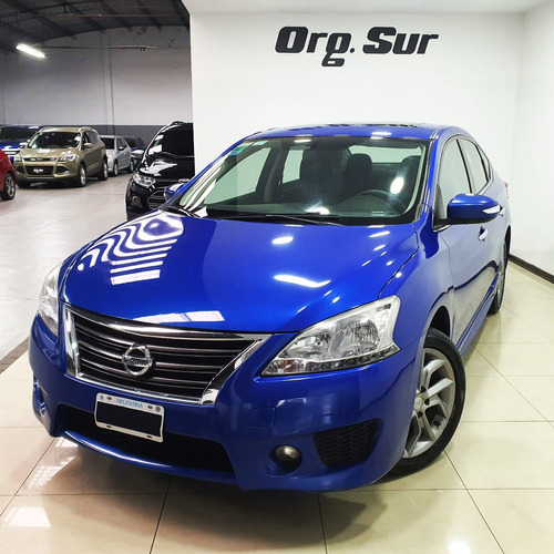 Imagen 1 de 10 de Nissan Sentra Sr Cvt 2.0l Pure Drive Sedan 4p At