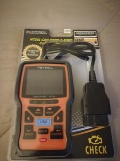 Escaner Para Vehiculo Marca Foxwell Nt301 Nuevo