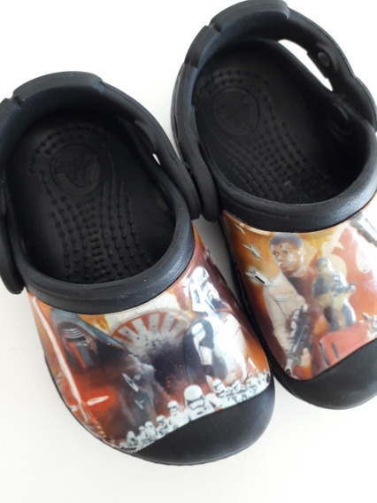 C 34-crocs - Star Wars - Talle 4/5
