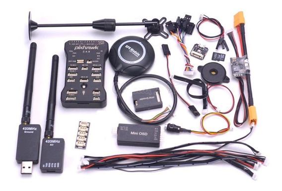 Pixhawk 2.4.8 32bit Controlador Vôo Telemetria Osd Power Mod