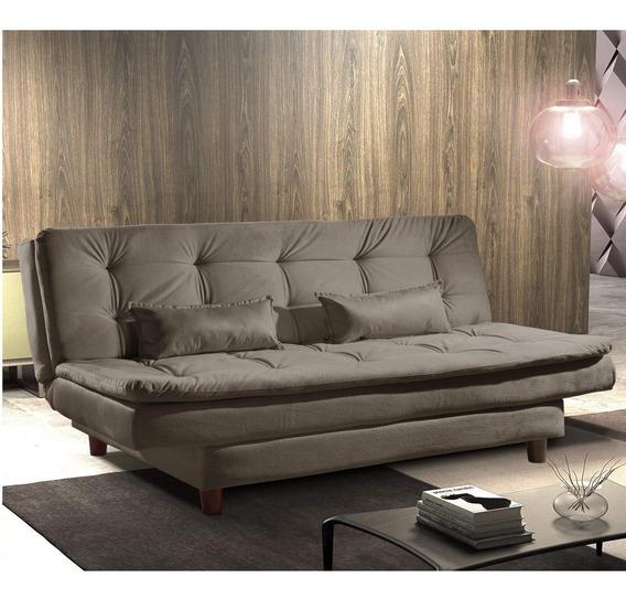 Sofa Cama 3 Lugares Premium Ref 07 Luxury Estofados Dd