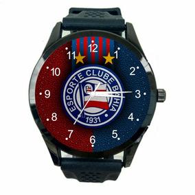 Relógio Bahia Fc Unissex Barato Futebol Esporte Time T822