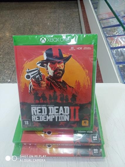 Jogo Red Dead Redemption 2 - Xbox One Original Lacrado
