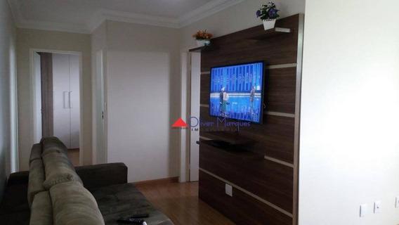 Apartamento Com 2 Dormitórios À Venda, 55 M² Por R$ 300.000,00 - Bussocaba - Osasco/sp - Ap6461